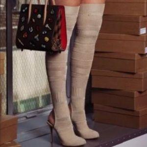 Christian louboutin kristy sock boot heels 37-38.5
